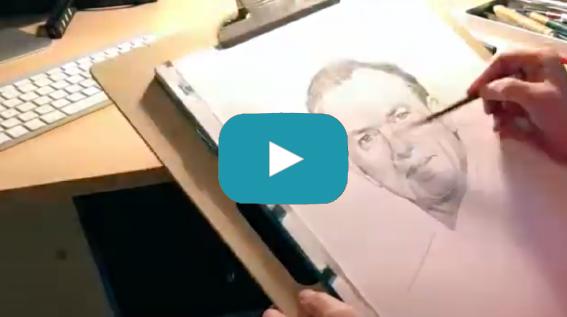 portret schilder wendy wasbauer